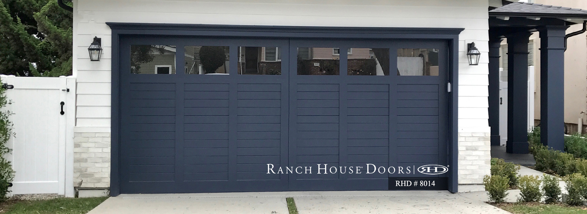 Custom Wood Garage Doors, Entry & Pedestrian Gates, Slider ... on home front door designs, ranch house french doors, ranch house exterior doors, ranch house front windows, ranch house double entry doors, ranch house bathroom design,